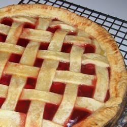 Holiday Cherry Pie