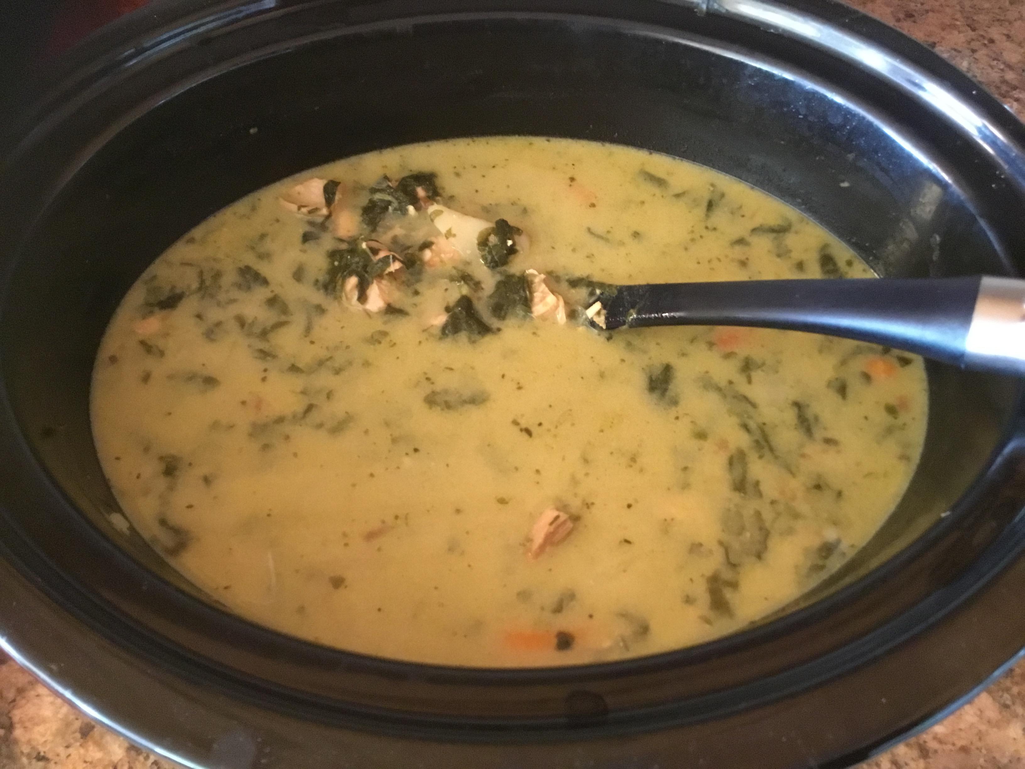 Savory, Zesty Cream of Potato Soup Helen Rodemeyer