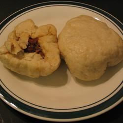 Chinese Steamed Buns with Barbecued Pork Filling