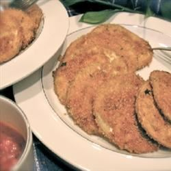 Baked 'Fried' Breaded Eggplant