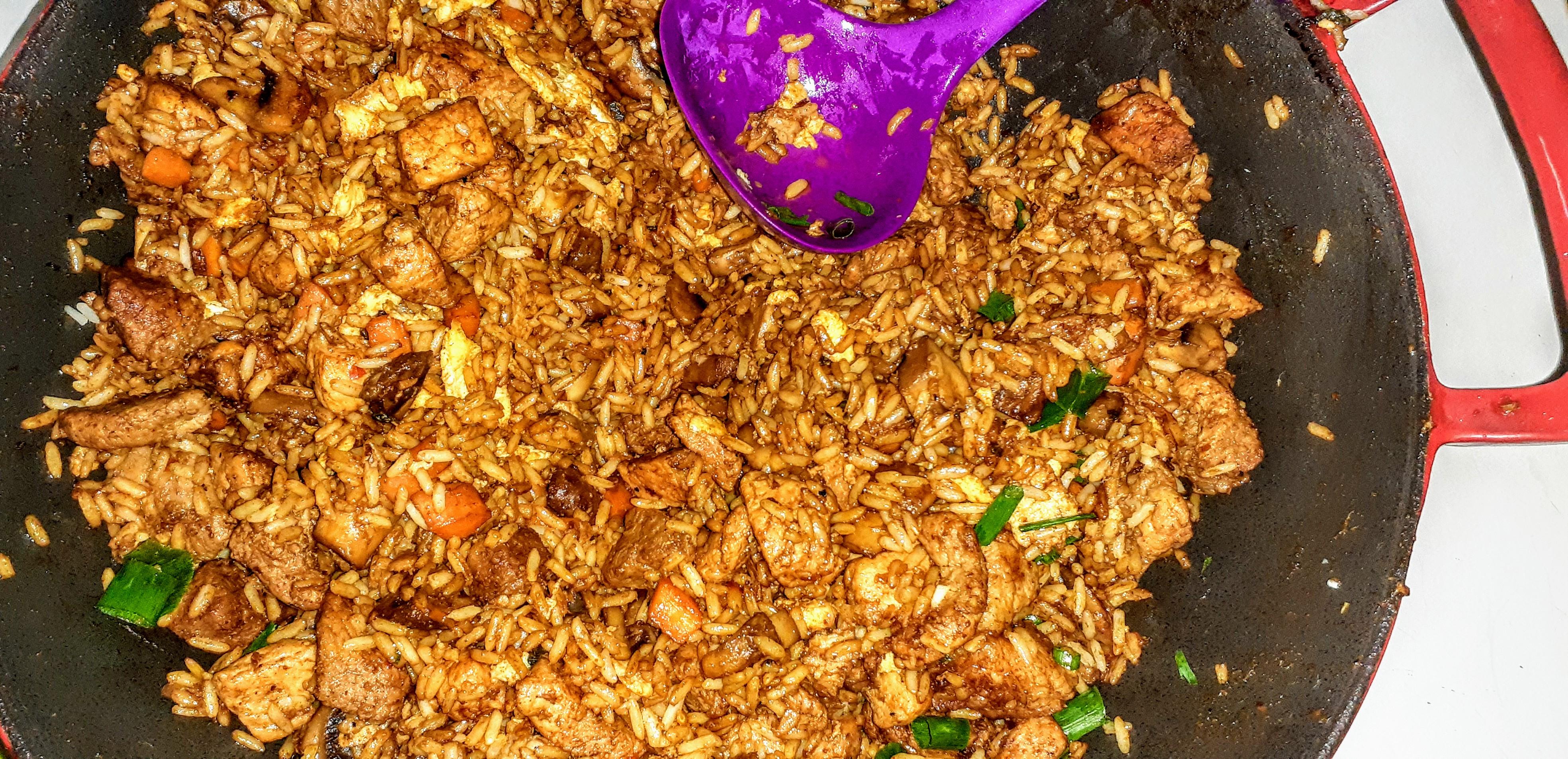 Chinese Pork Fried Rice Dandan De