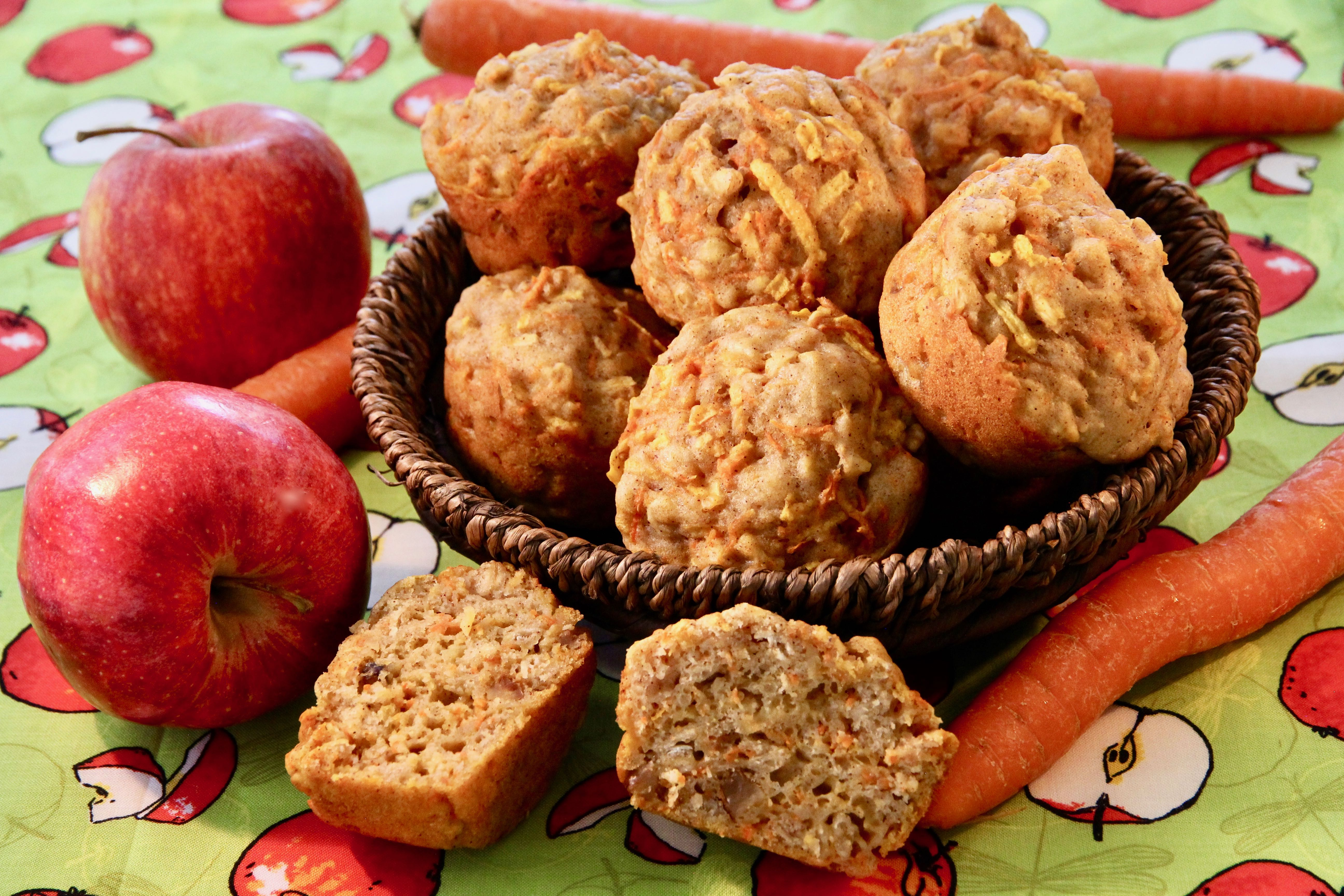 Carrot-Apple Muffins