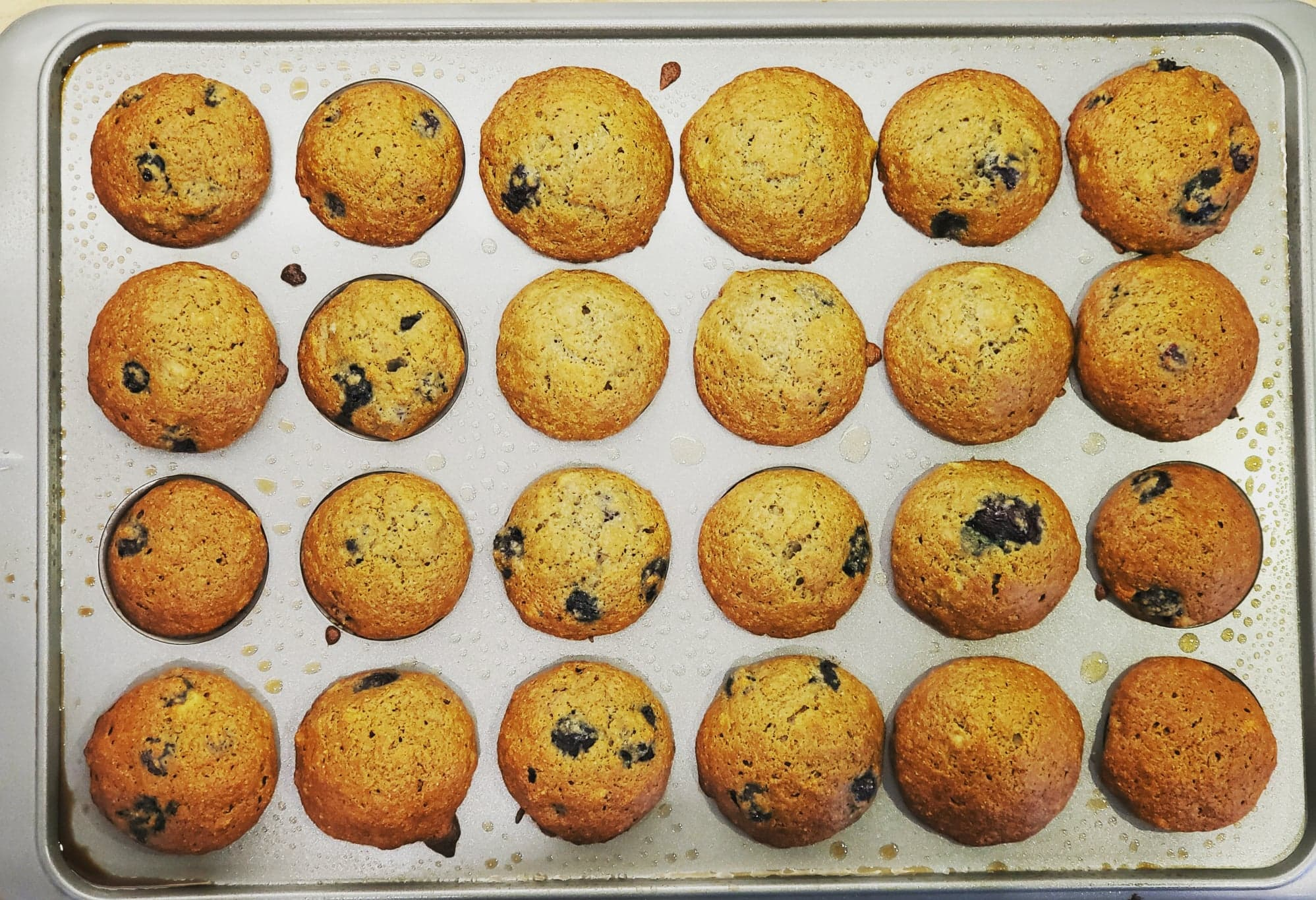Delicious and Nutritious Whole Wheat Banana and Blueberry Muffins Yves OU Line Chamberland