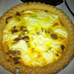 Red Onion and Goat Cheese Tart allyser