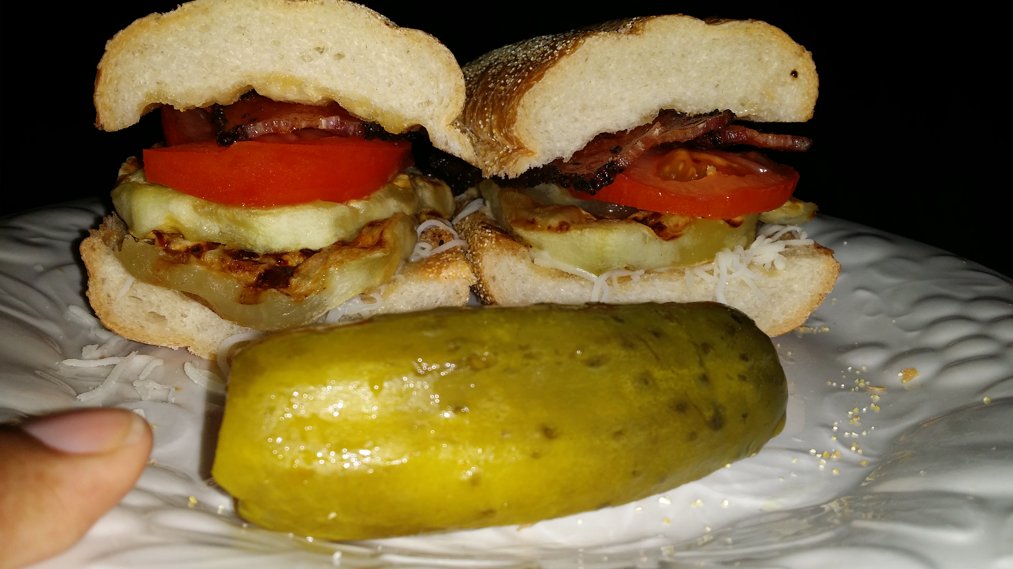 Eggplant Burgers Cooking Mama