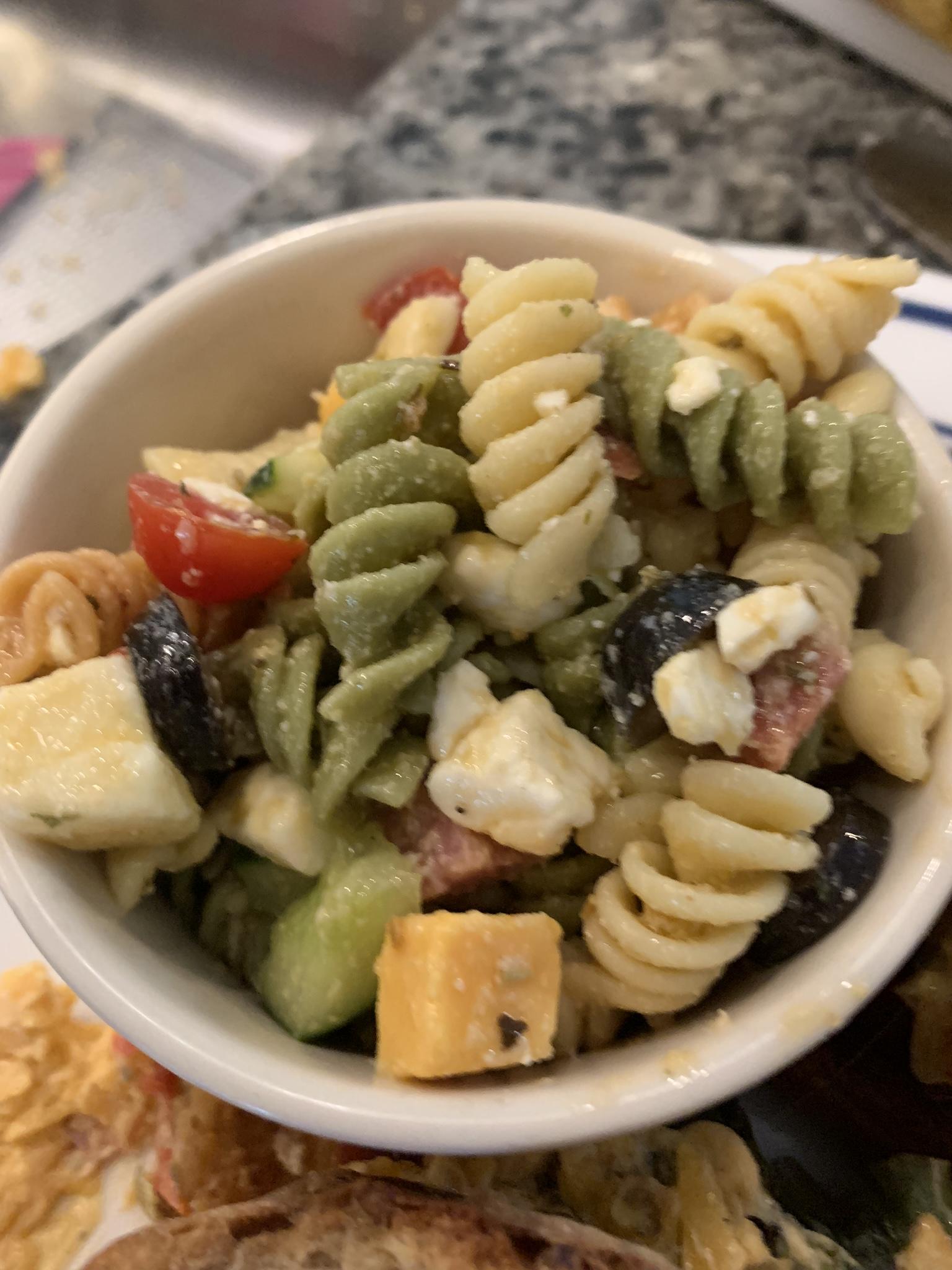 Classic Pasta Salad Brian Genest