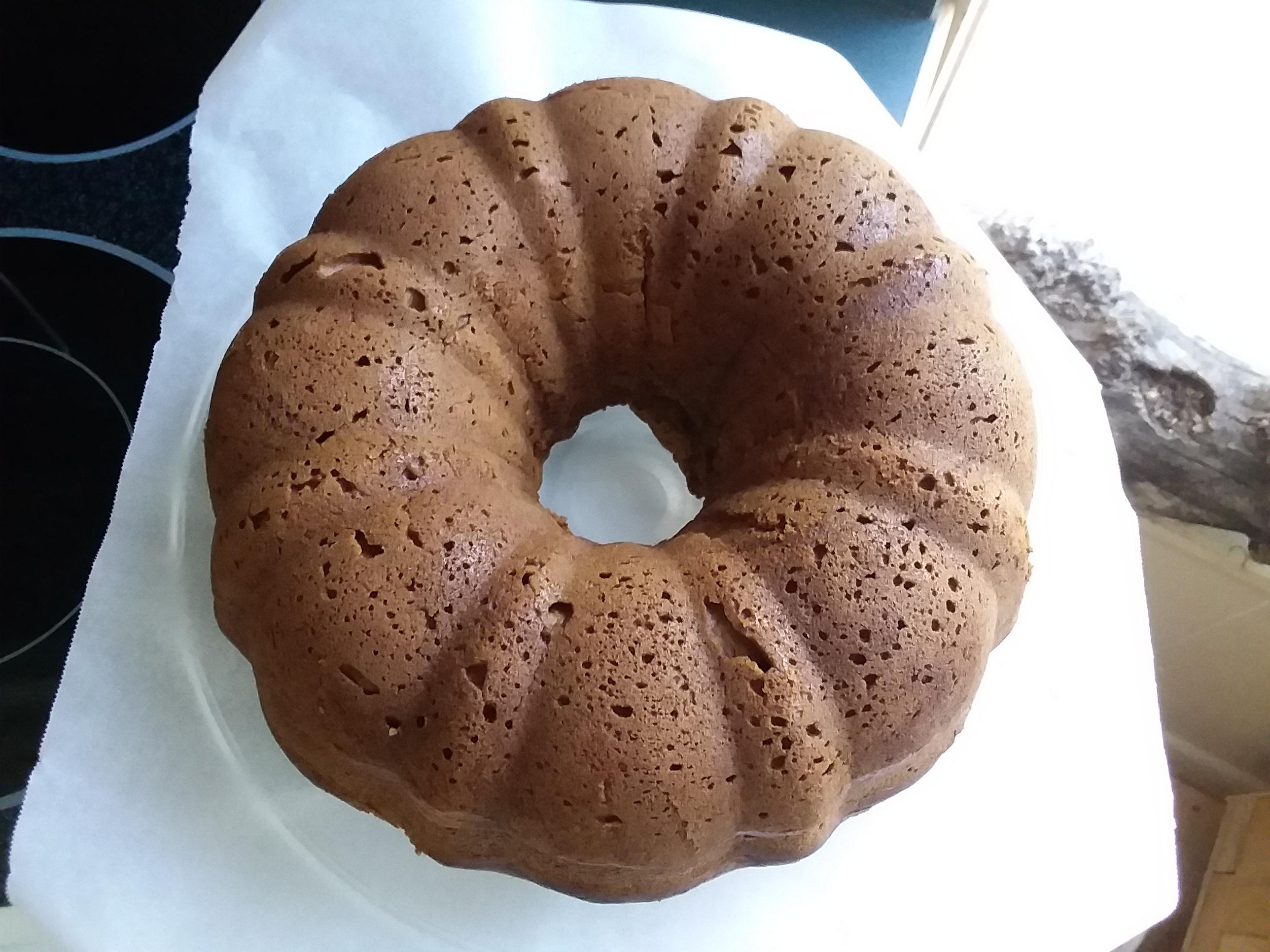 Pumpkin-Cream Cheese Bundt® Cake Sassy