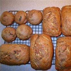 Whole Wheat Zucchini Bread Skiva