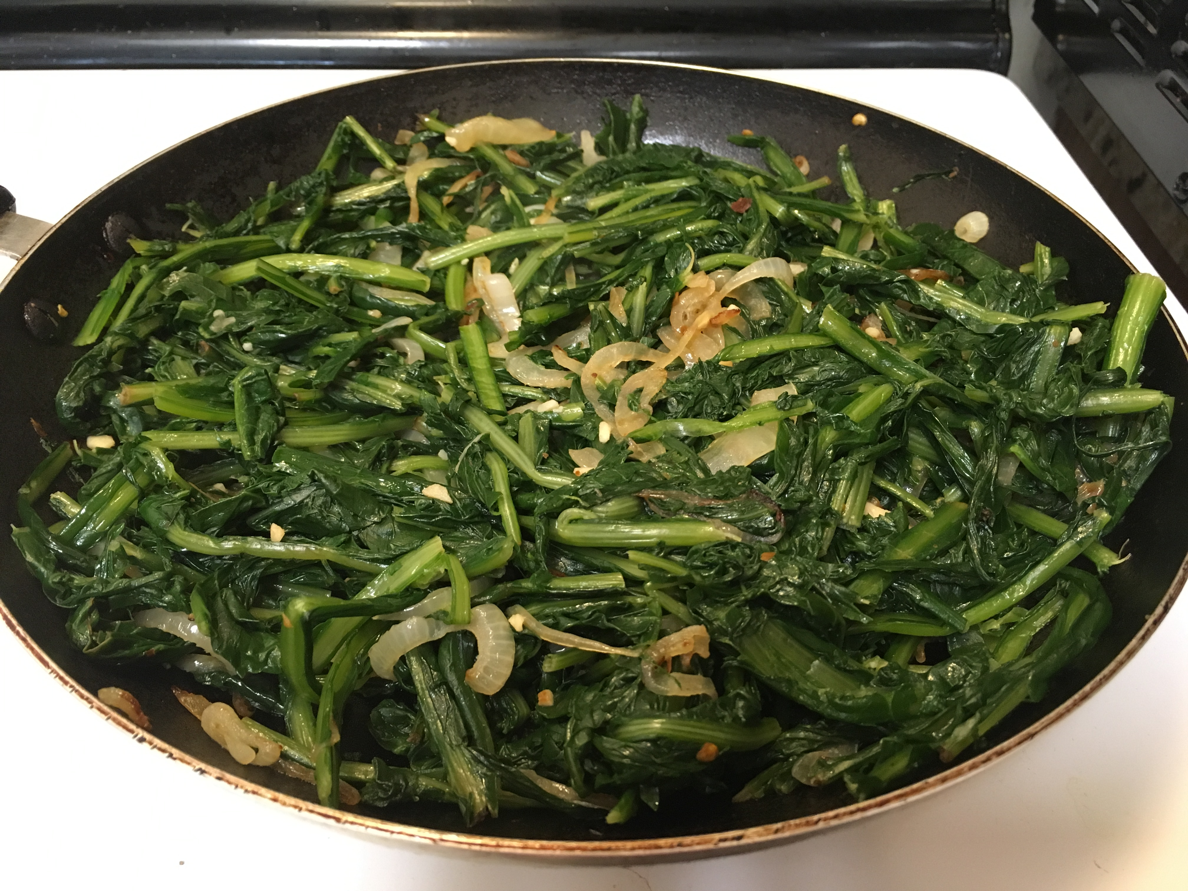 Dandelion Greens with a Kick southernmainegirl