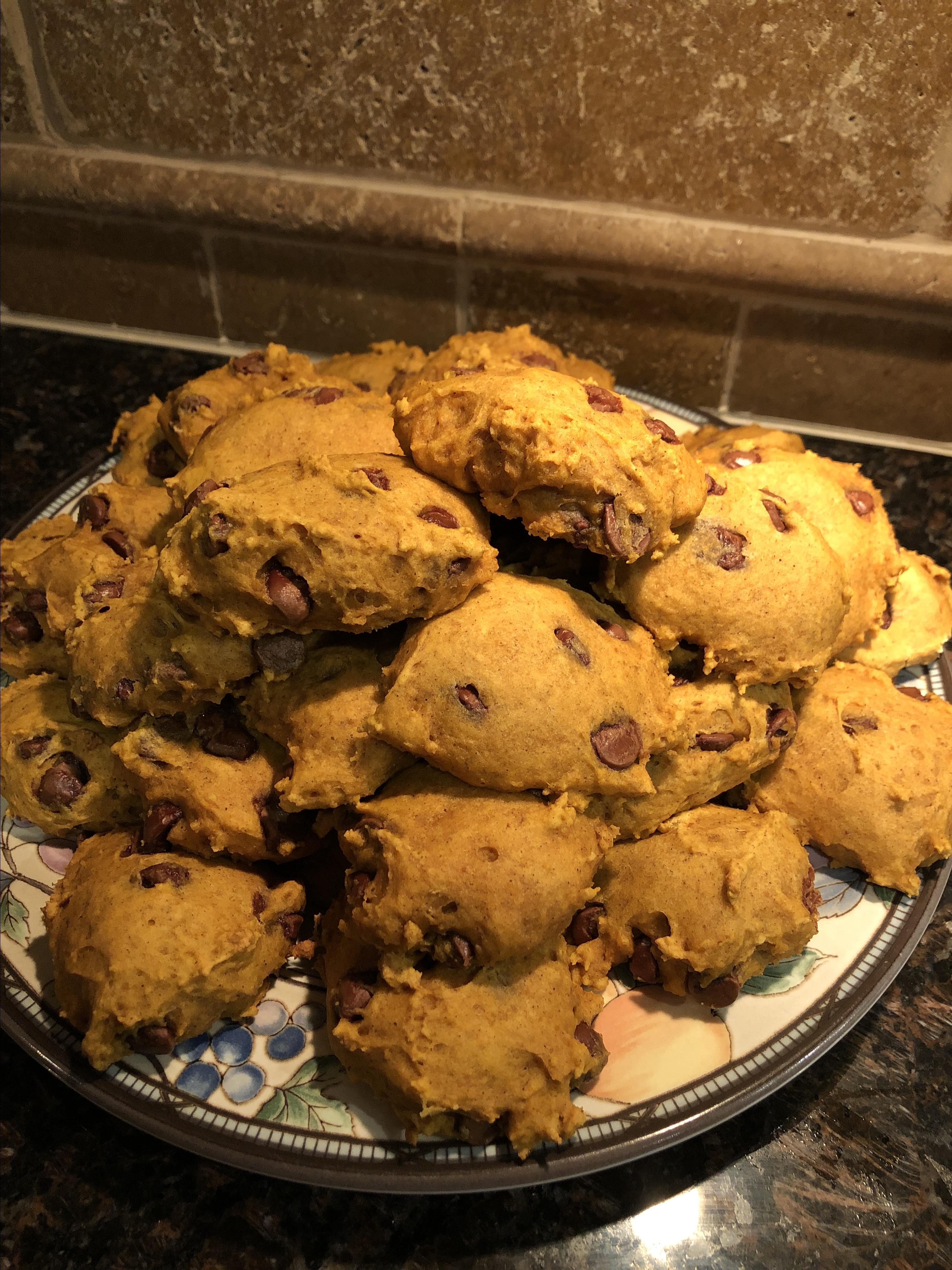 Soft Pumpkin Cookies Christina Grivas