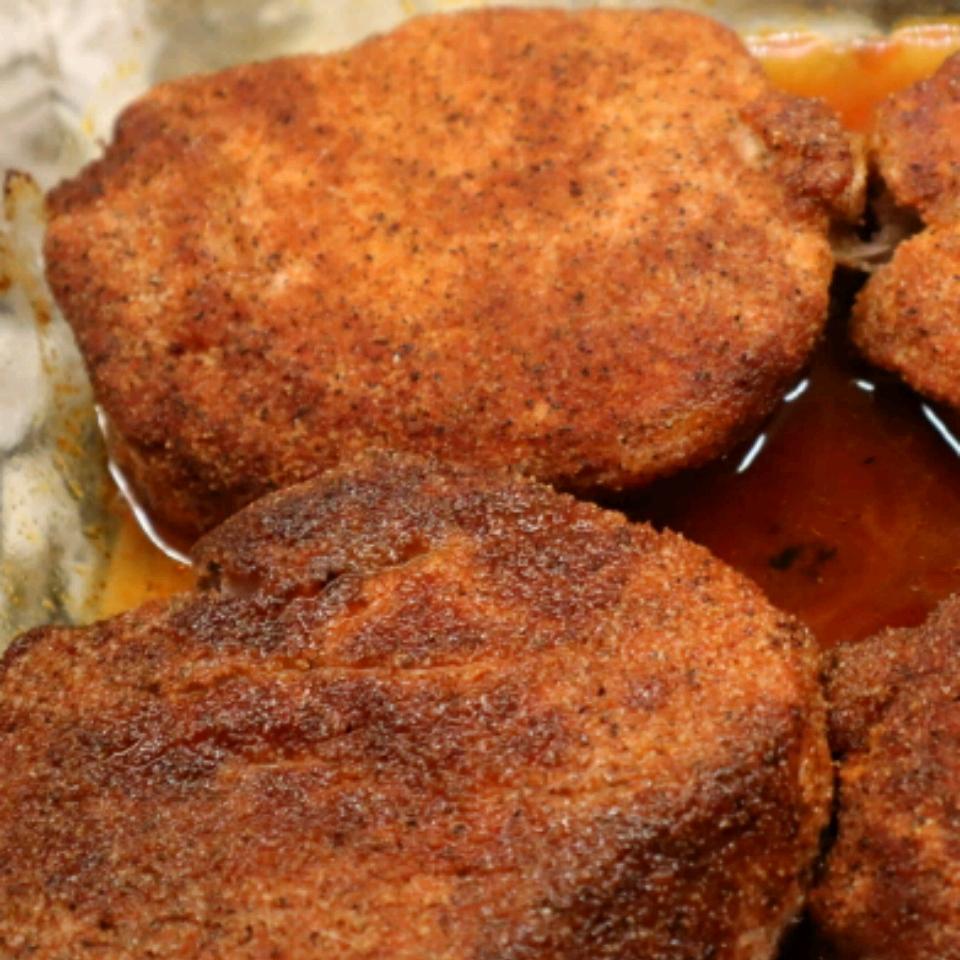 Pork Rub Rubbed and Baked Pork Chops