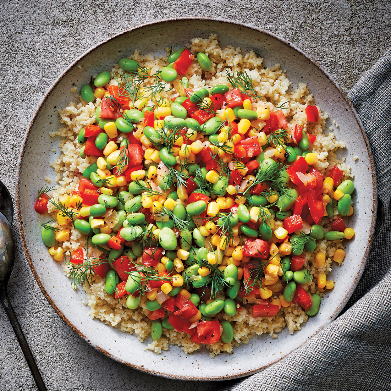 Slow-Cooker Edamame Succotash Trusted Brands