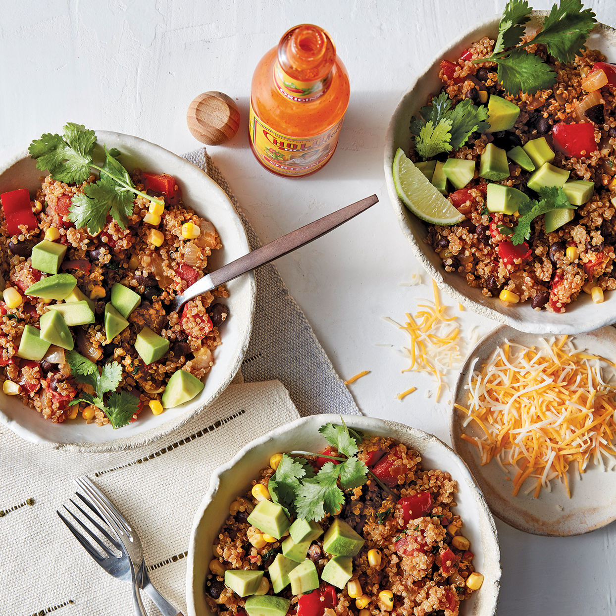 Slow-Cooker Southwest Quinoa Bowls Trusted Brands