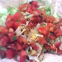 Mexican-Style Taco Salad Mumsy'sCouchPotato