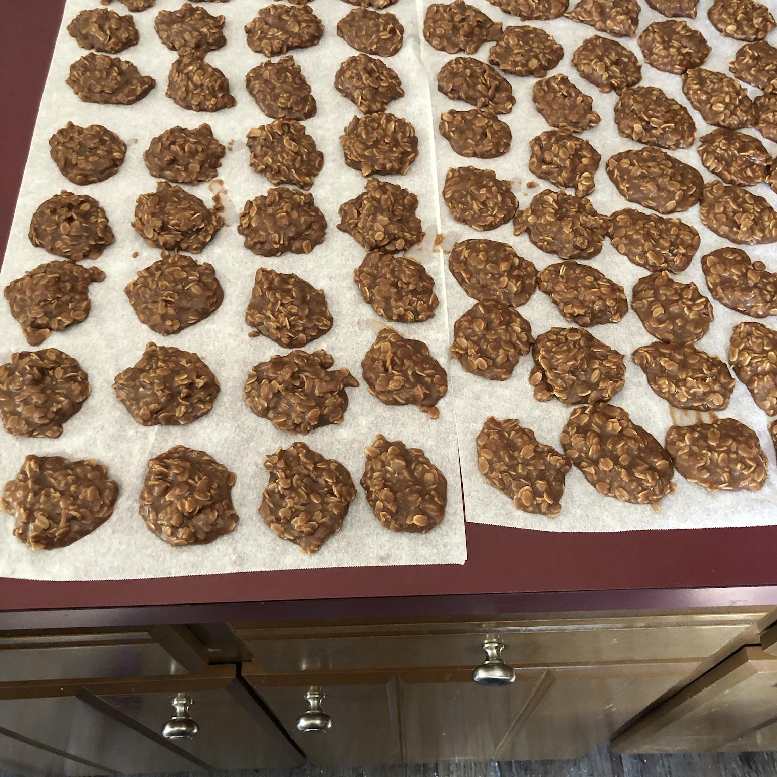 Super-Moist No-Bake Chocolate and Oatmeal Cookies Noel King Stewart