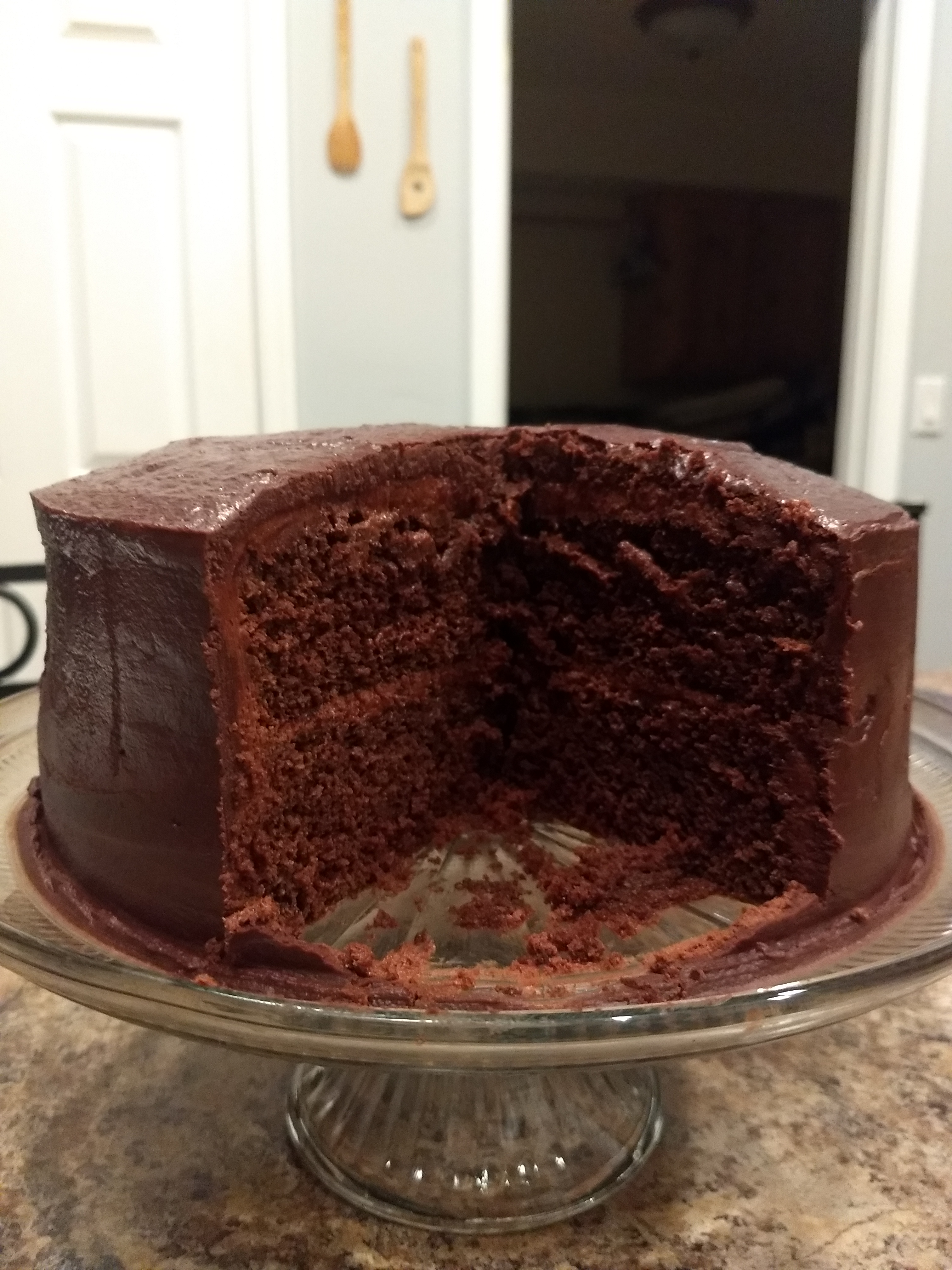 Elizabeth's Extreme Chocolate Lover's Cake