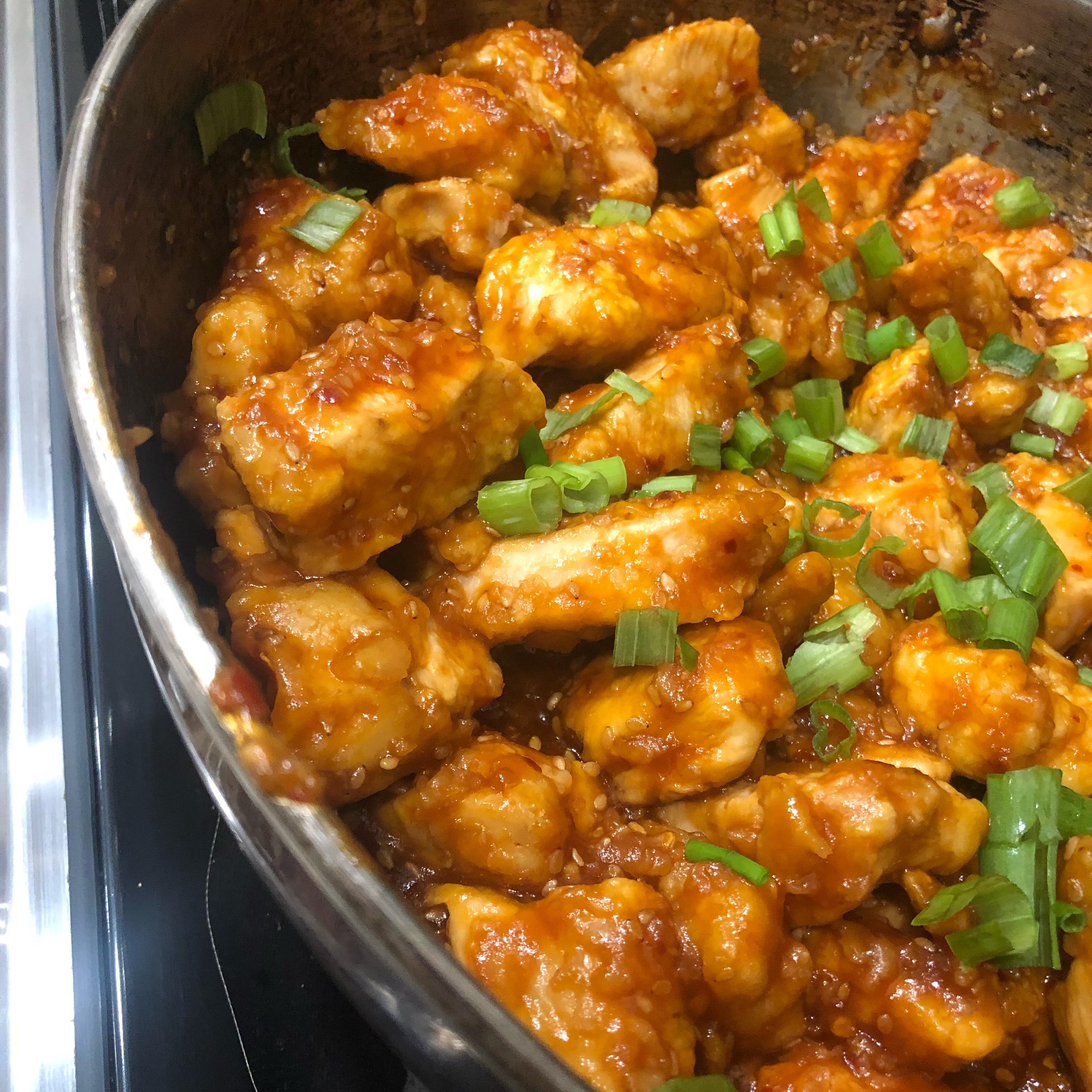 Instant Pot® General Tso's Chicken Pravy Boombatti