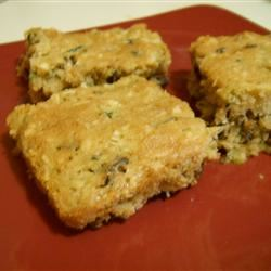Zucchini-Coconut Cookie Bars leahedmonds