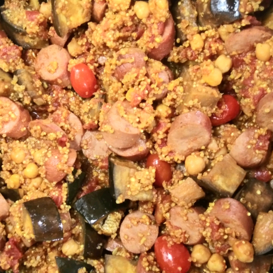 Moroccan-Style Chicken and Eggplant Stew batphace
