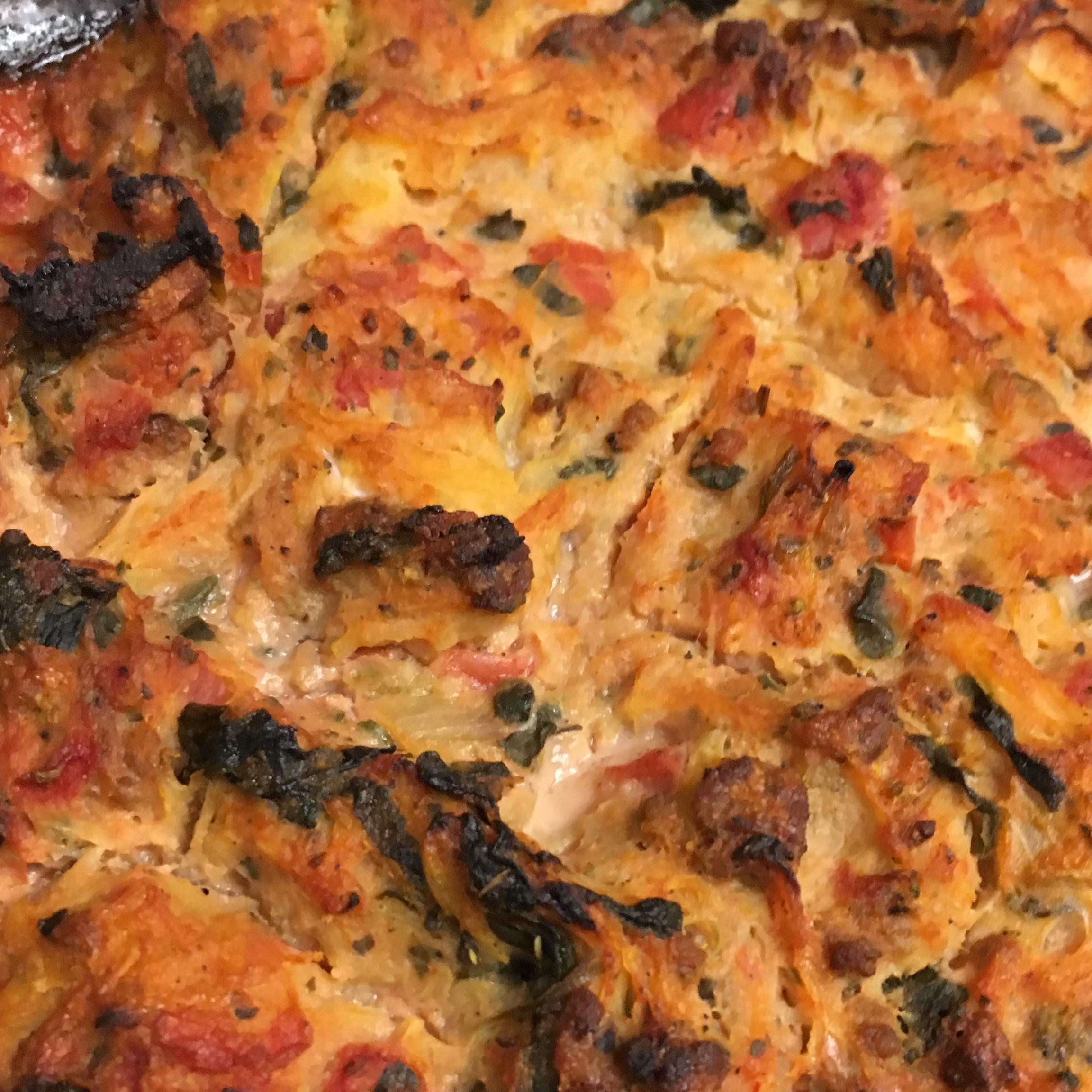Spaghetti Squash Pie (Gluten Free and Dairy Free) Zoe Star