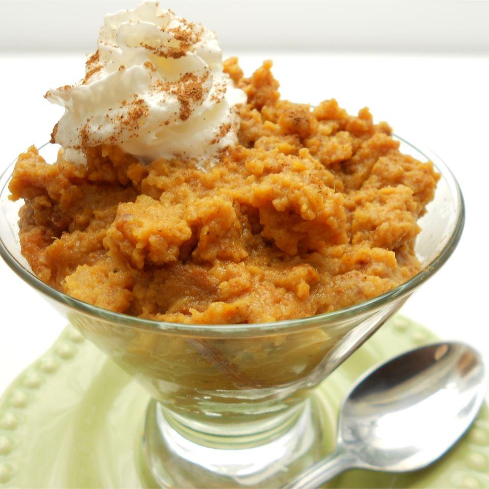 Pumpkin Pie Pudding Holiday Baker