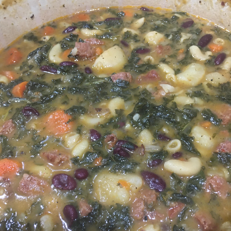 Easy Portuguese Kale Soup Michele Rodrigues-Sandberg