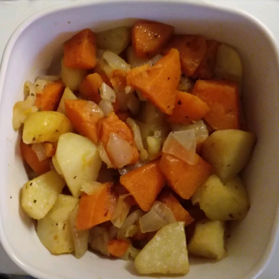 Roasted Potato Medley Zina Bani