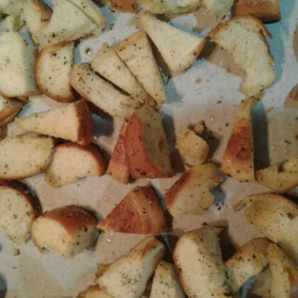 Salt and Garlic Bagel Chips Amber V. Farrell