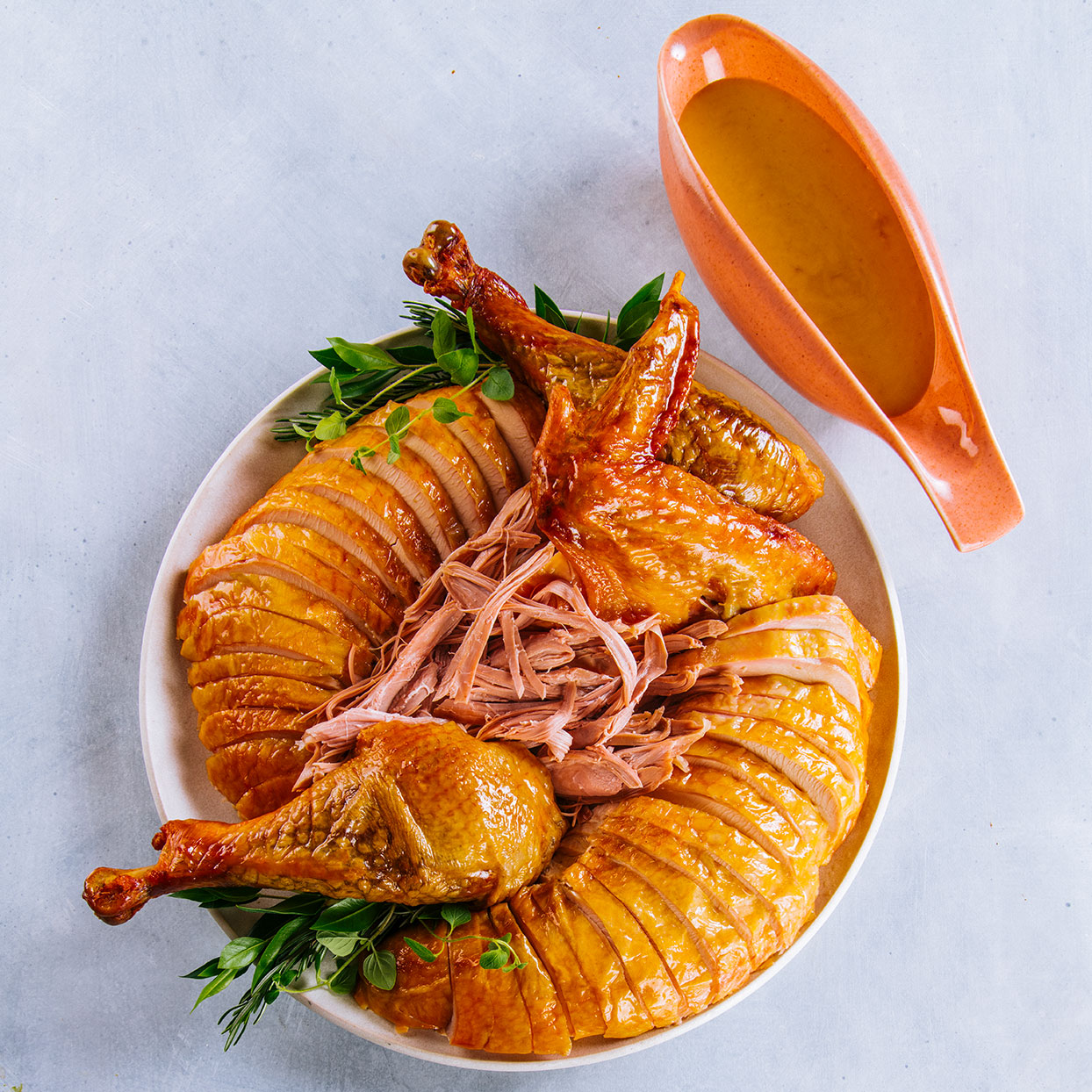 Traditional Roast Turkey with Giblet Gravy Trusted Brands