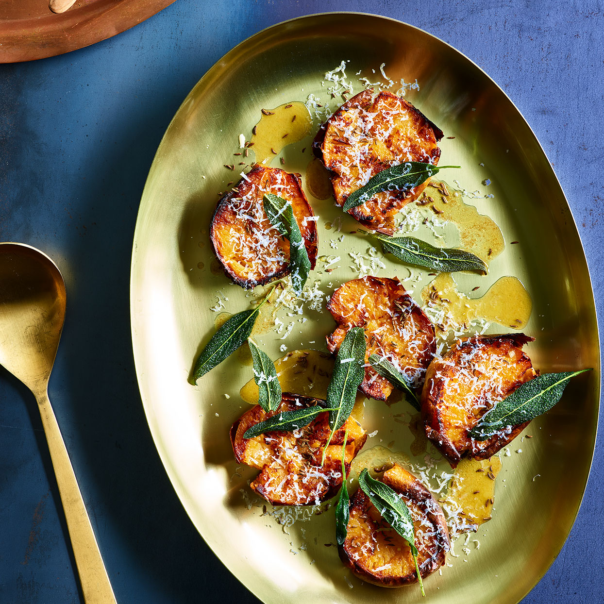 Roasted Rutabagas with Lemon-Brown Butter Sauce & Crispy Sage Annie Pettry