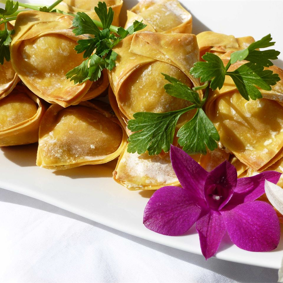 Cream Cheese Won Tons OkinawanPrincess