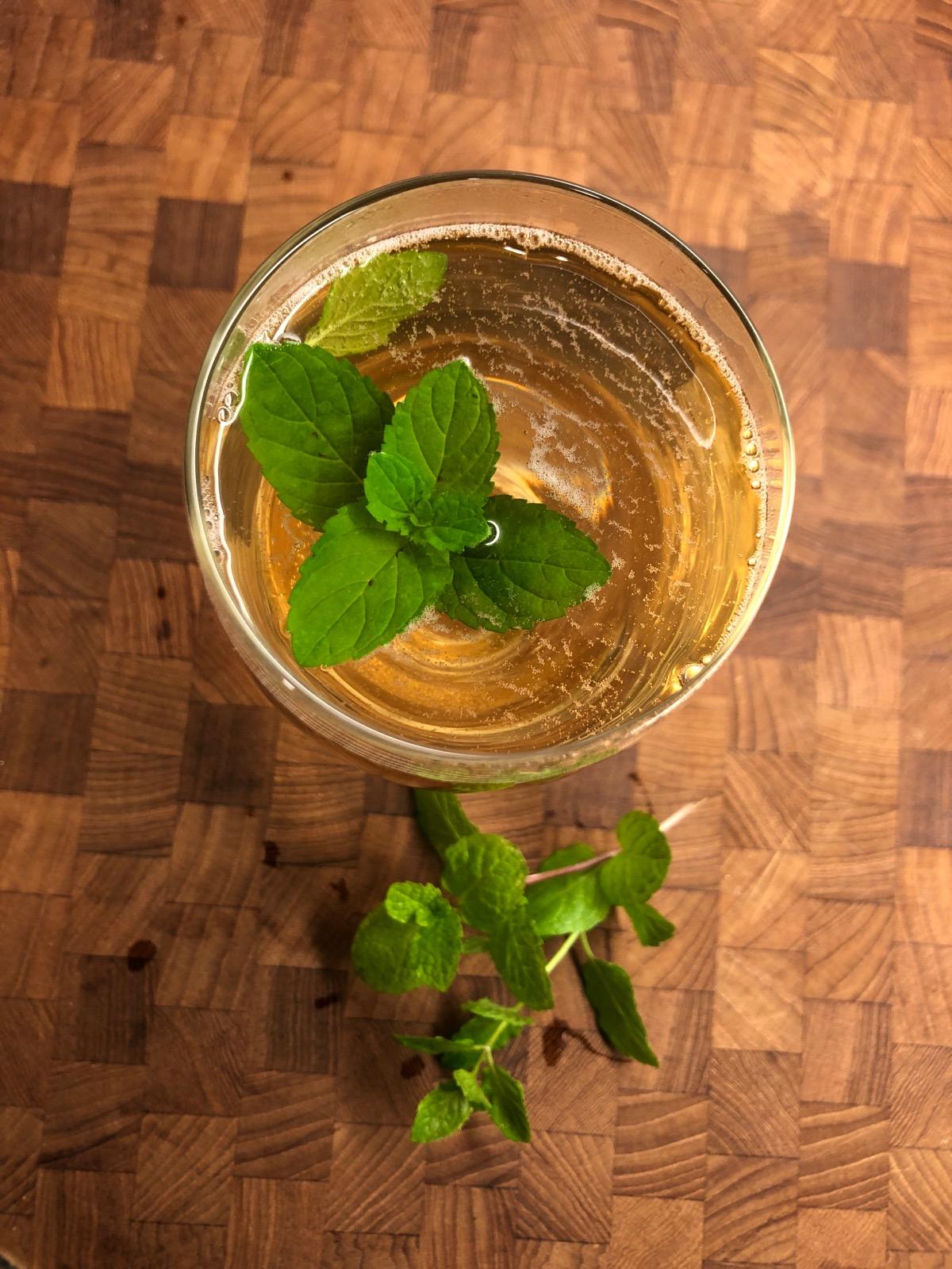 Sekanjabin (Iranian Mint Vinegar Syrup)