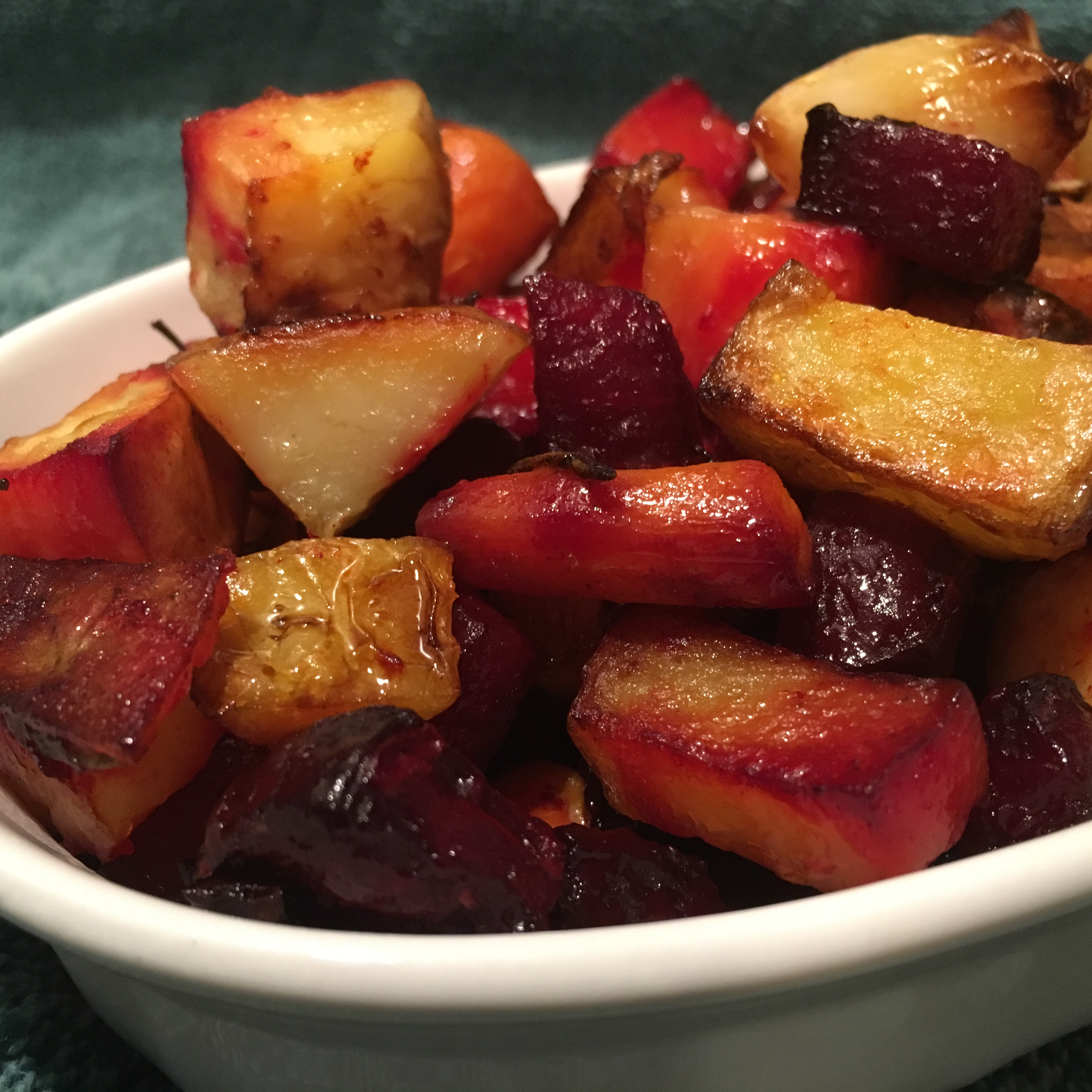Root Vegetables with Balsamic Glaze