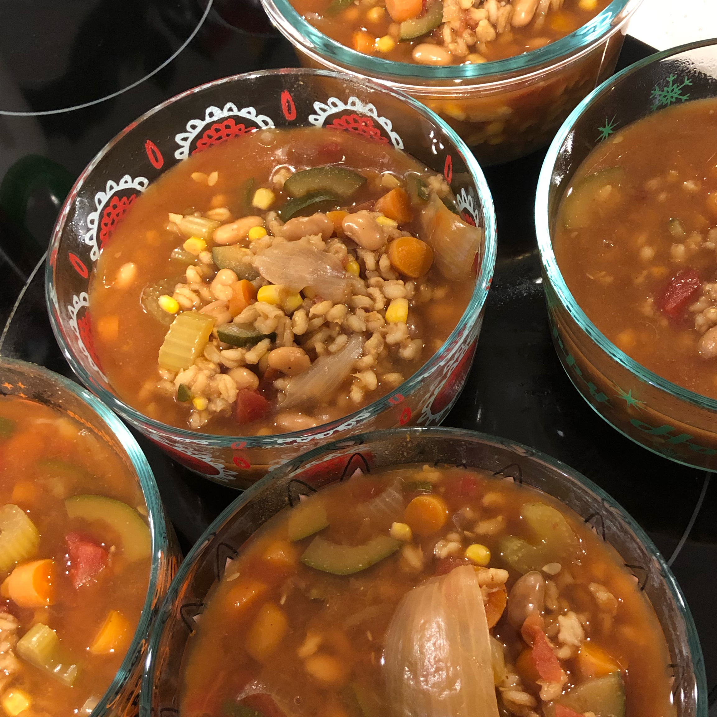 Instant Pot® Vegan Vegetable and Barley Soup Caitlin Ellis