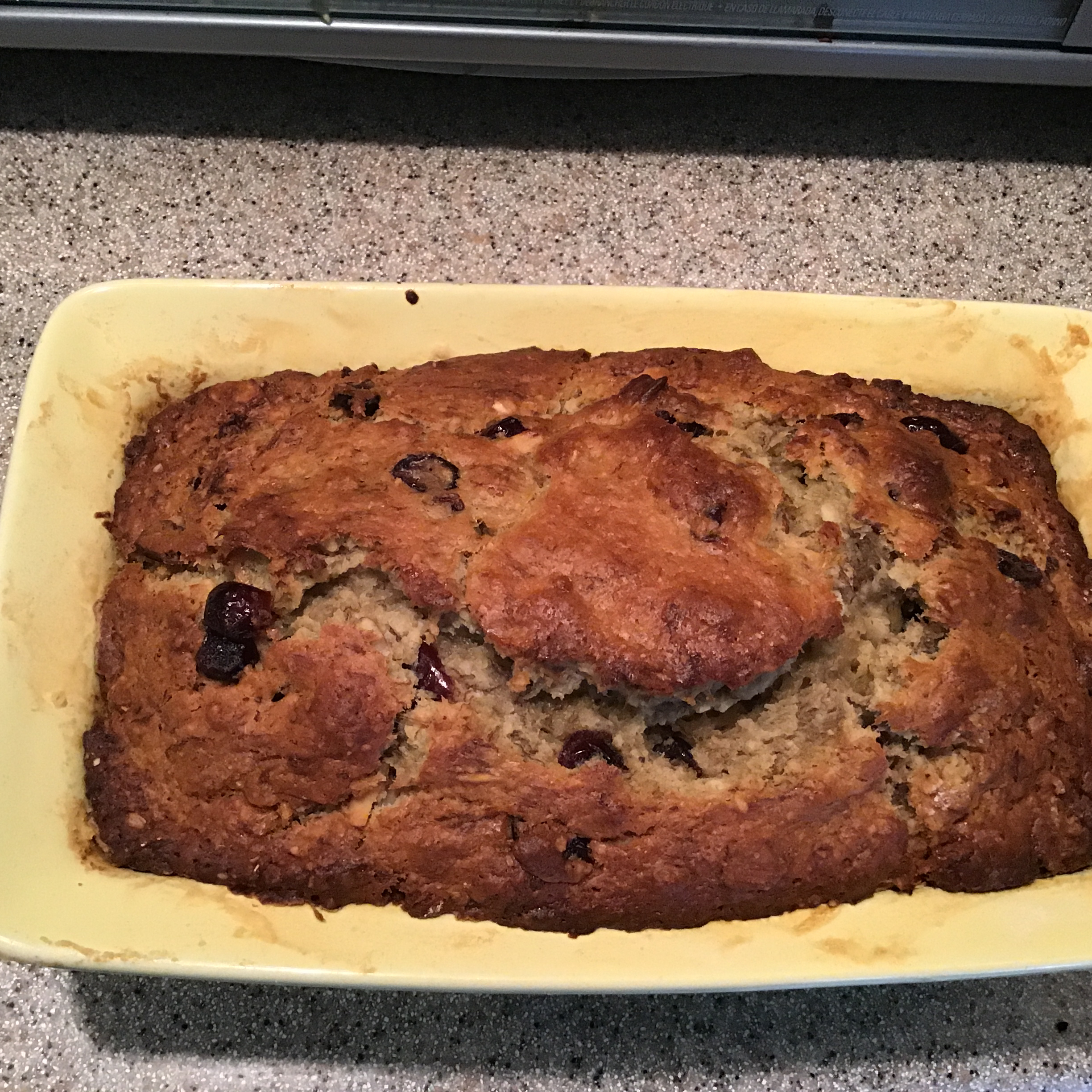 Cranberry Banana Oat Bread lucy