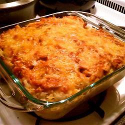 Salsa Chicken Rice Casserole