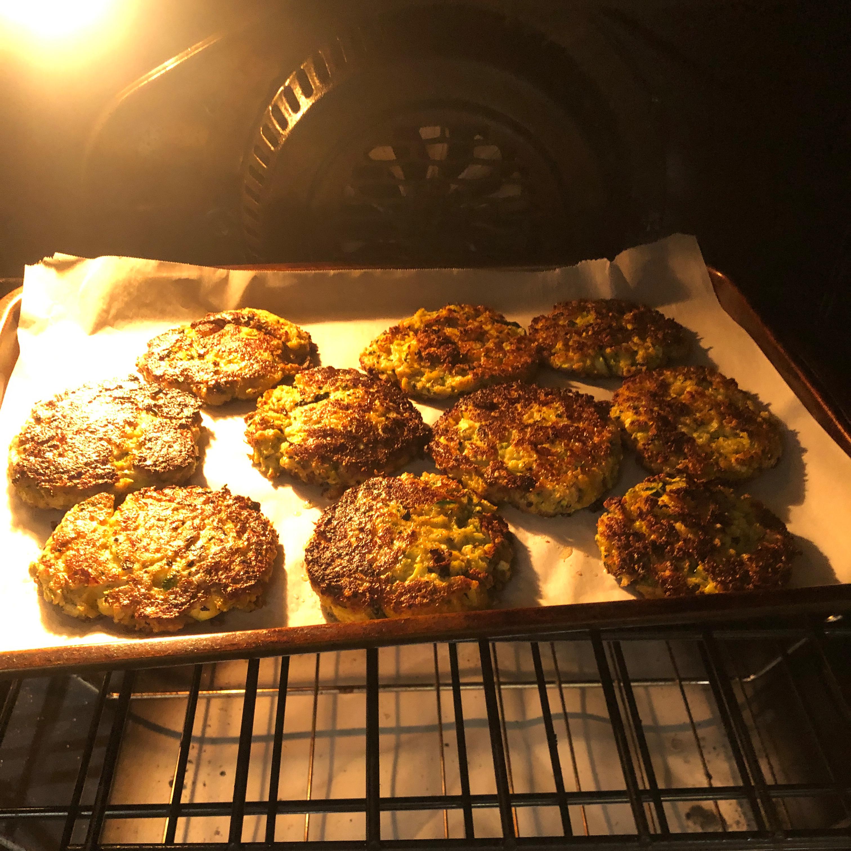 Zucchini Patty Pancakes