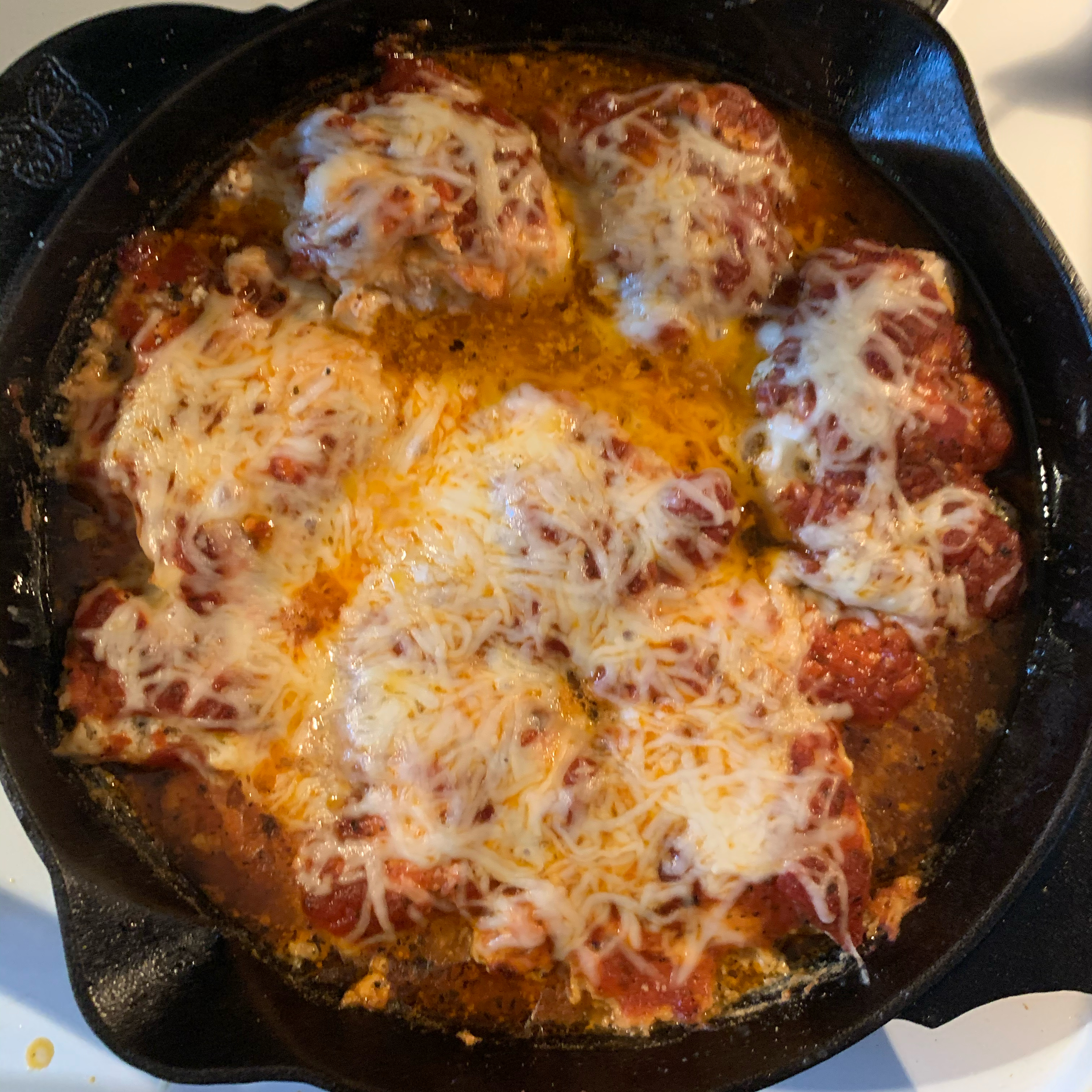 Baked Italian Chicken Thighs