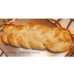 Braided Italian Herb Bread Nerice Photography