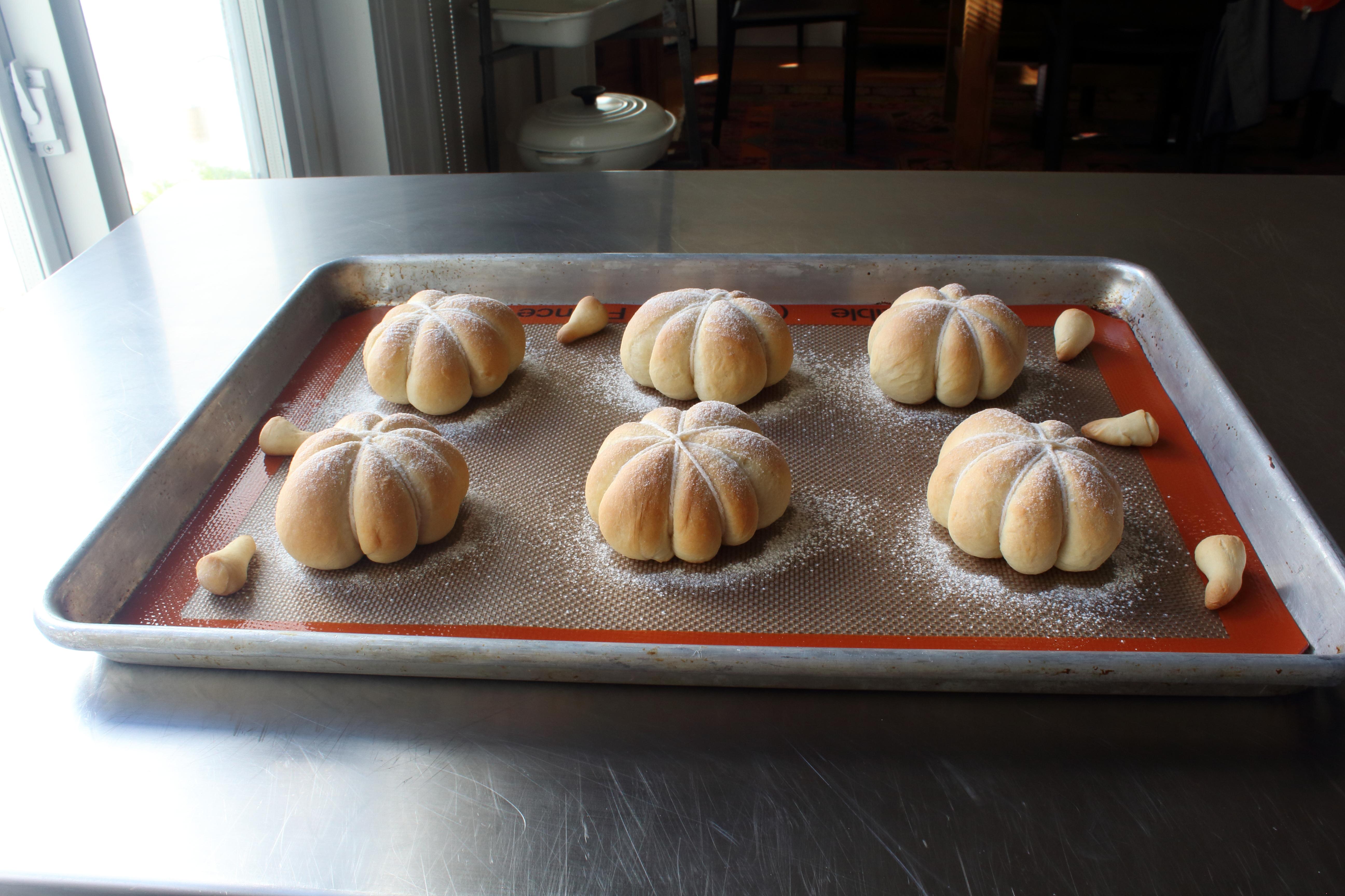 Pumpkin-Shaped Dinner Rolls Chef John