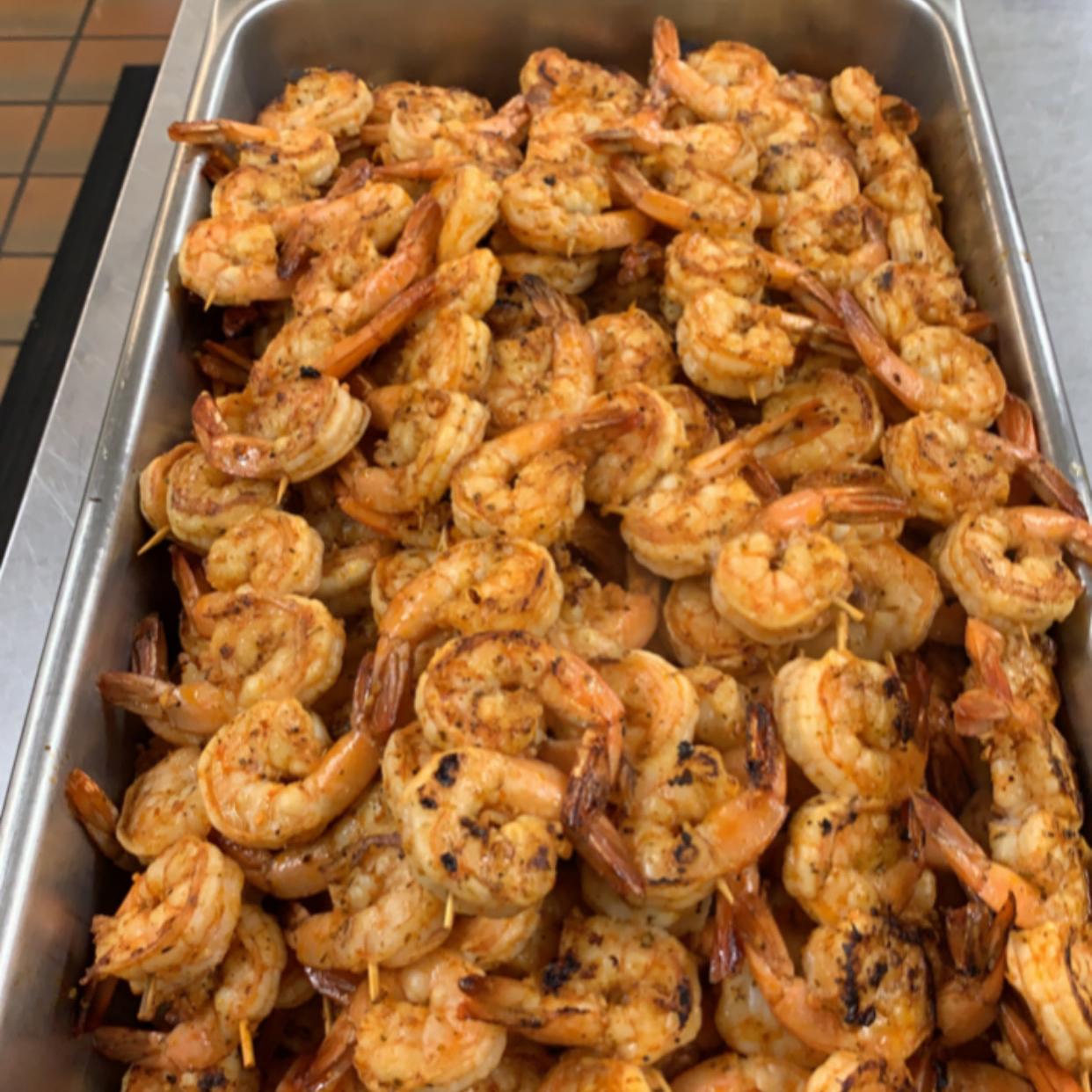 Grilled Garlic and Herb Shrimp