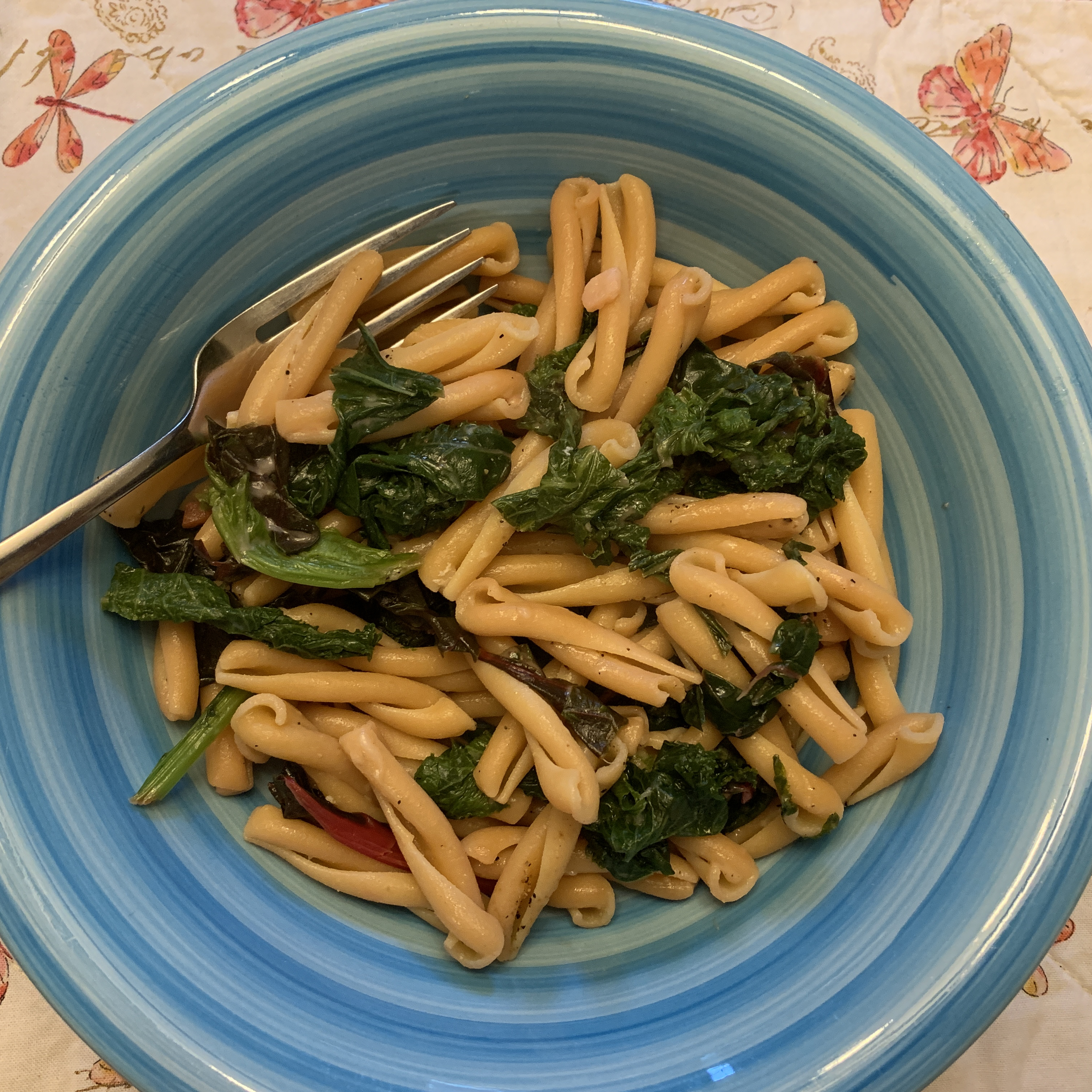 Pasta with Swiss Chard Terry Horst