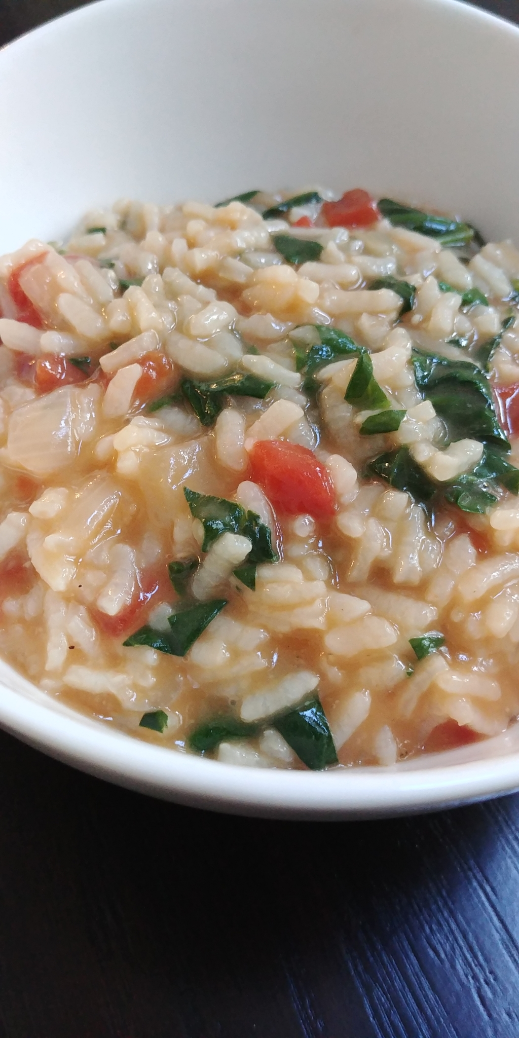 Instant Pot® Tomato-Spinach Risotto Chef Mo