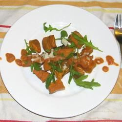 Roasted Sweet Potato and Rocket Salad Seattle2Sydney