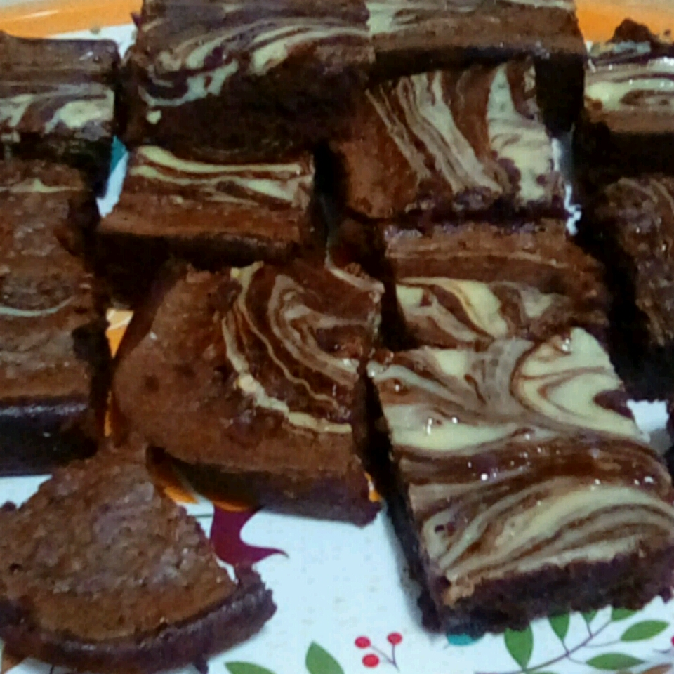 this recipe for philly cheesecake brownies
