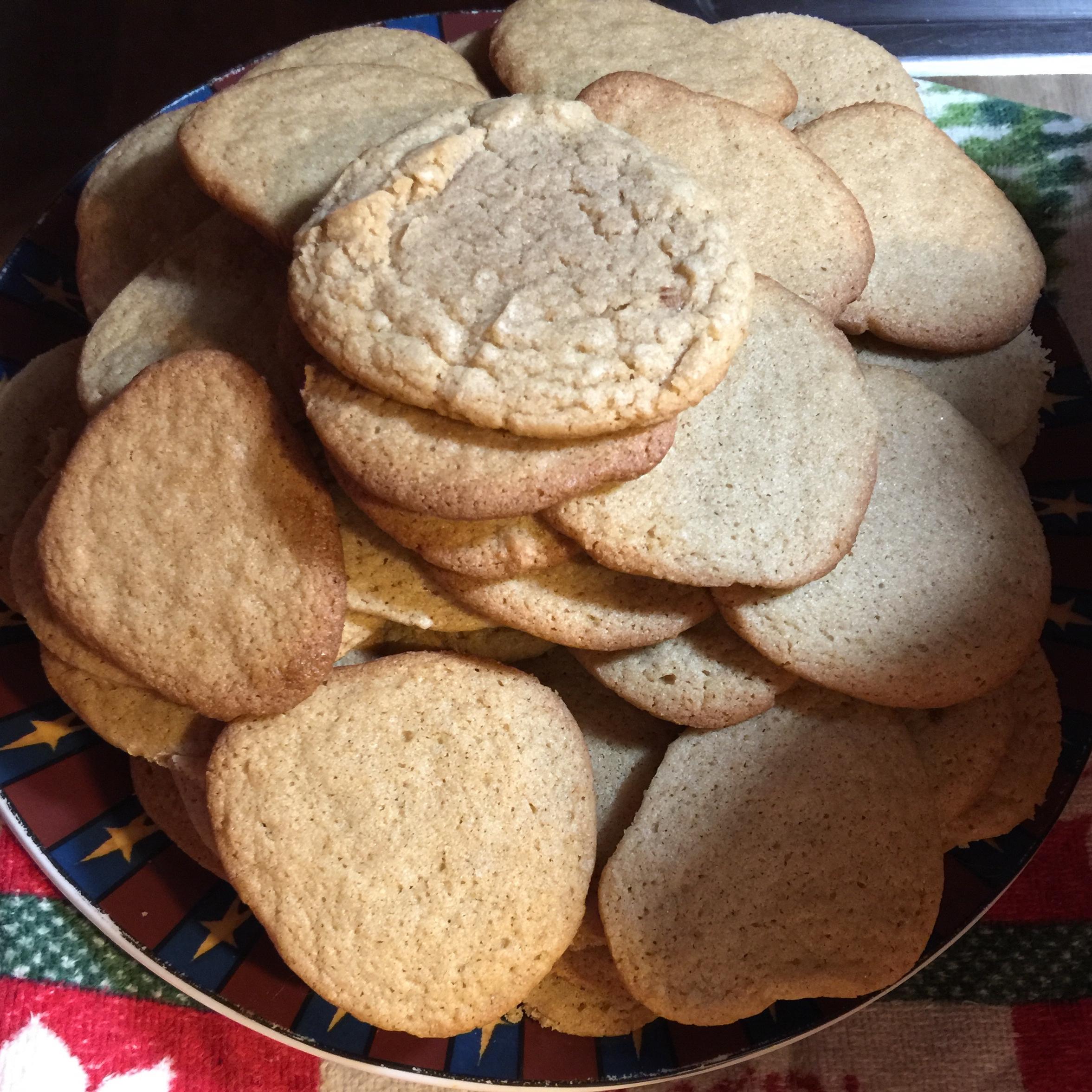 Easy Refrigerator Cookies wintermaiden