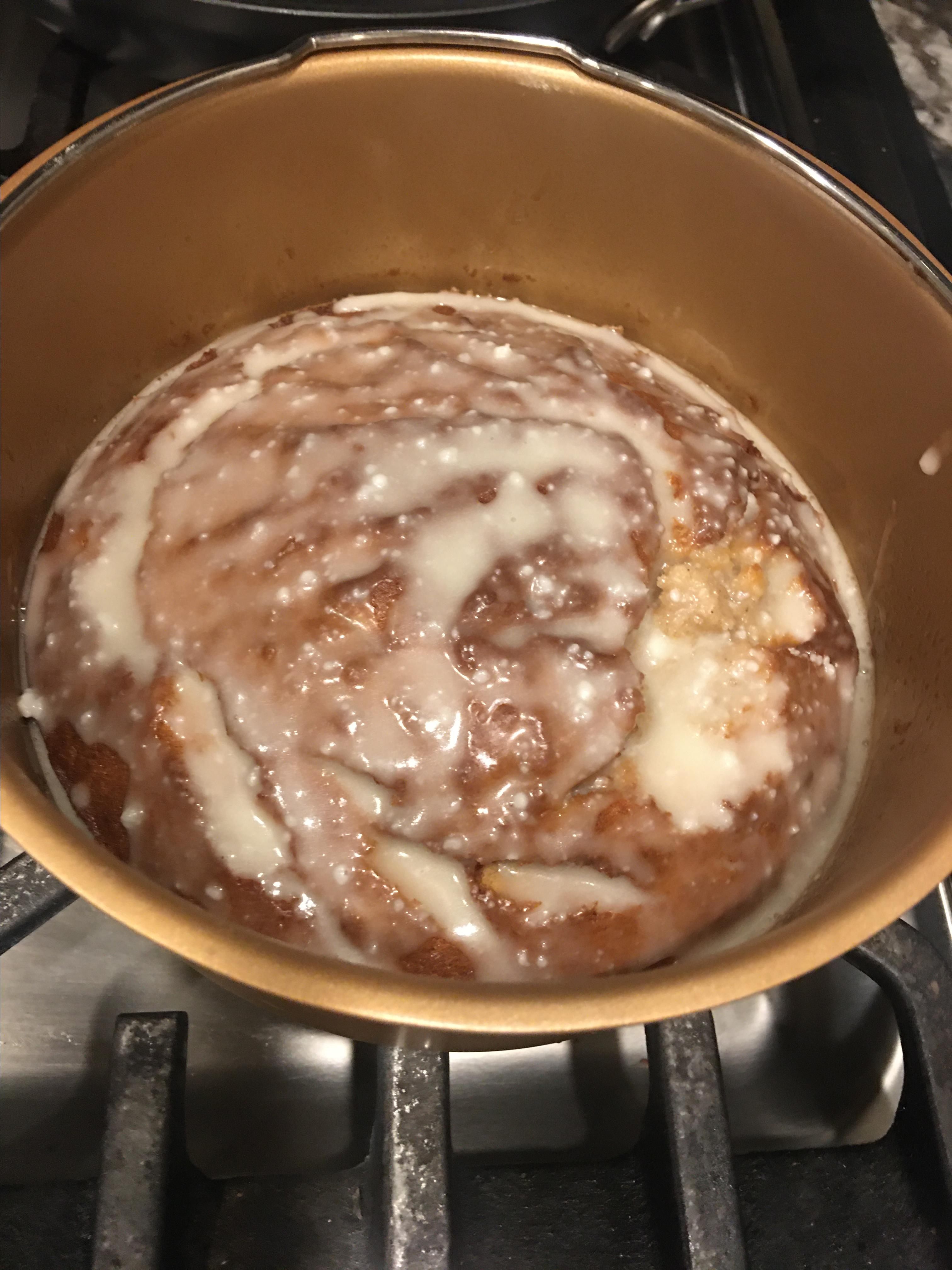 Air-Fried Banana Cake solidrock4me