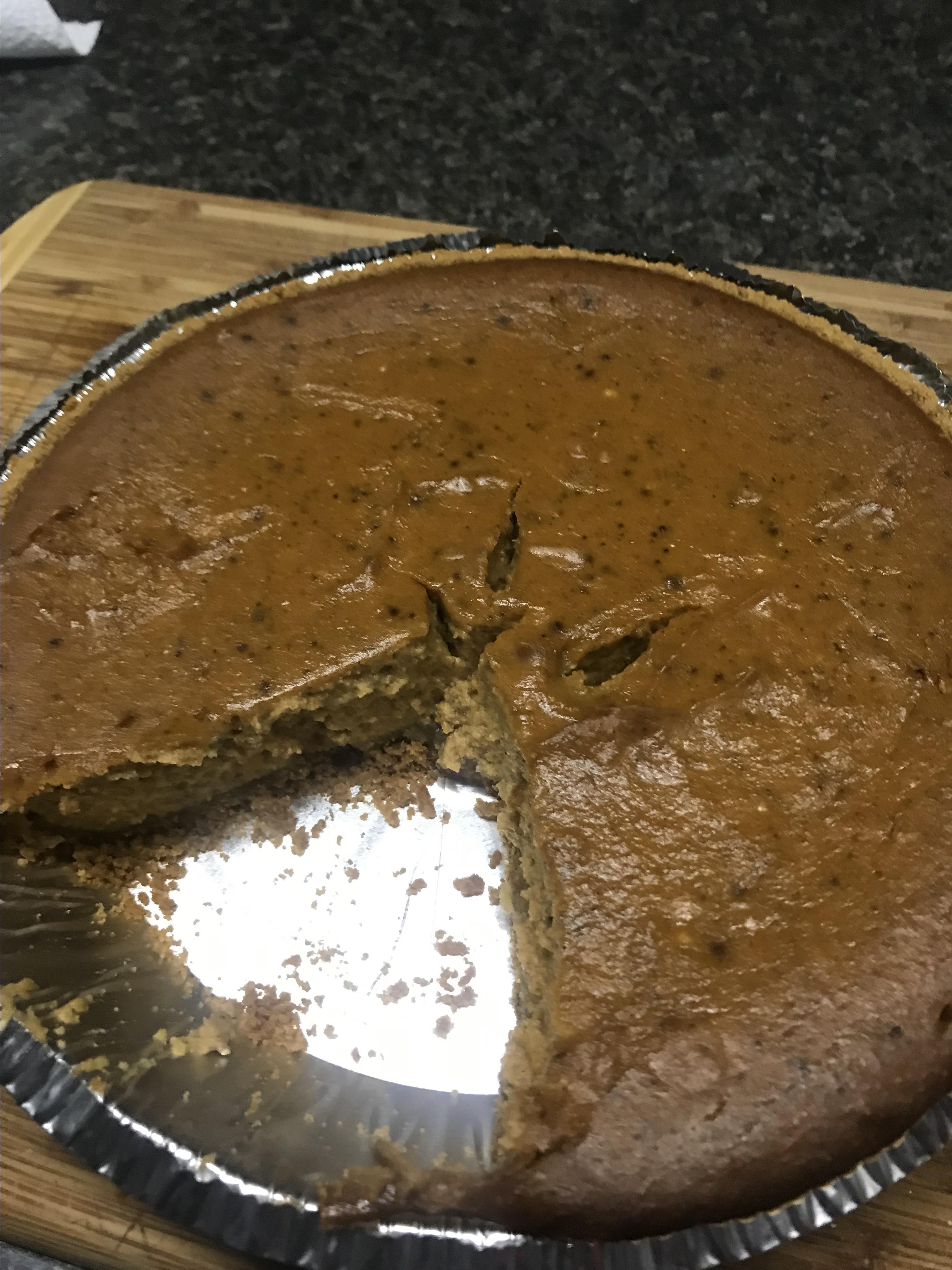 Creamy Pumpkin Pie with Ricotta Cheese Kirsten