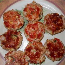 Turkey Veggie Meatloaf Cups BevKat