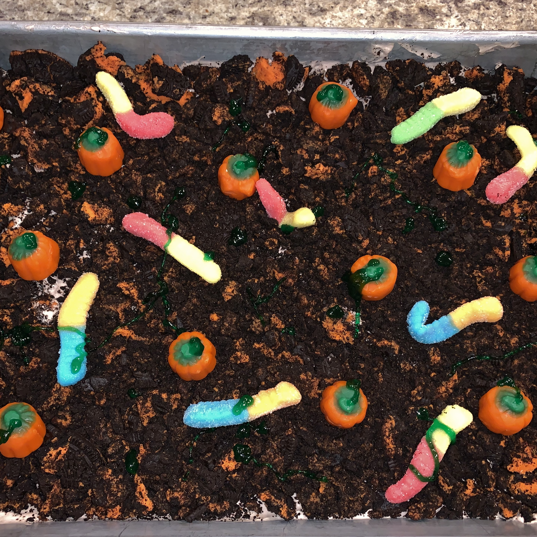 Pumpkin Patch  Dirt  Cake Hailey Anderson